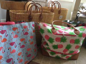 Breezes Day Spa Beach Bags