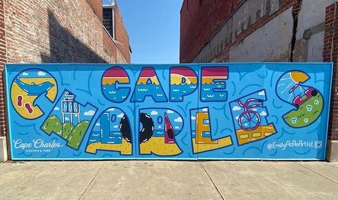 Cape Charles Mural