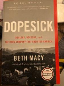 Dopesick, book title