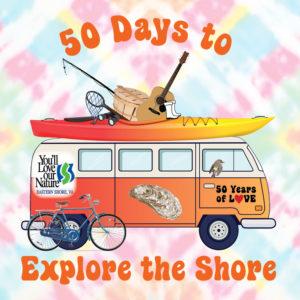 ESVA 50 Days to Explore the Shore Logo