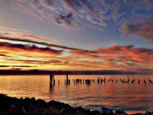 Fall Sunset Cape Charles VA