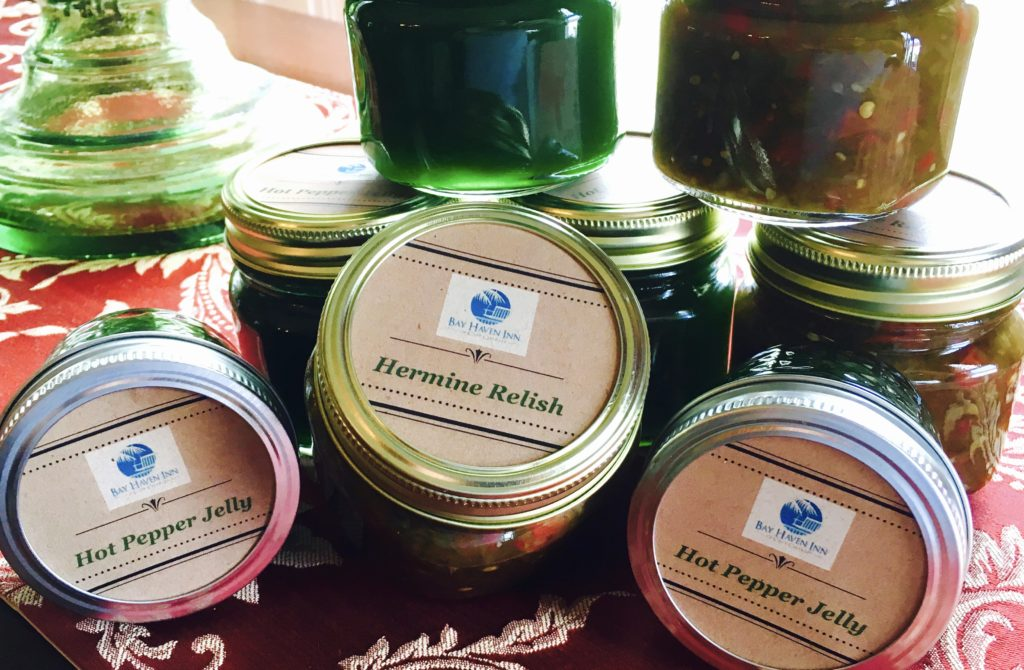 Pepper Jam and Hermine Relish