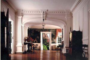 Inside Eyre Hall, Eastville, VA