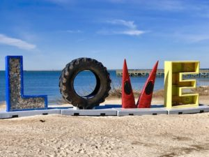 LOVE sign, Cape Charles VA