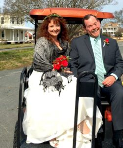 VA eastern shore wedding, Cape Charles