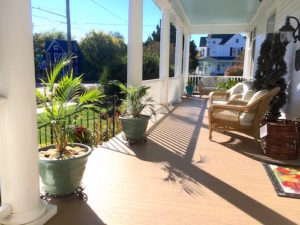 Bay Haven Inn of Cape Charles front porch