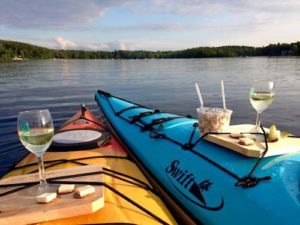 paddle your glass off