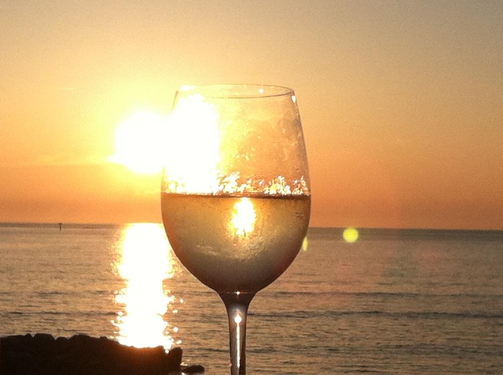 sunset_through_wine_glass